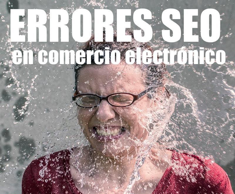 Errores SEO en comercio electronico